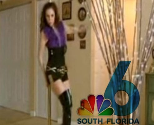 pole dancing videos in the news
